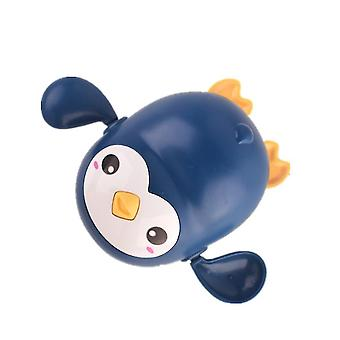 2Pcs penguin blue cartoon bath animal penguin whale baby water toy,boys girls bathing toys az5901