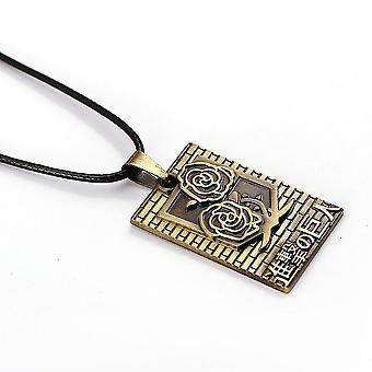 New Anime Attack On Titan Bronze Pendant Necklace ES12419