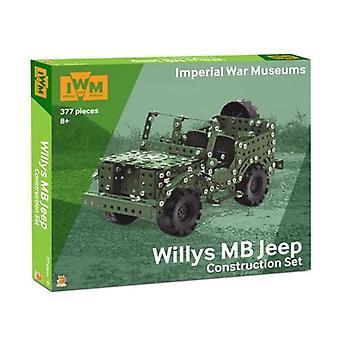 Keisarillinen sotamuseo Constr asettaa Willyn jeepin