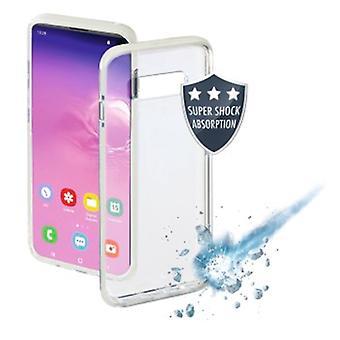 Hama Suojakansi Samsung Galaxy S10e Thermoplastic Polyuretaani (TPU) 1 Lisävarusteet Valkoinen