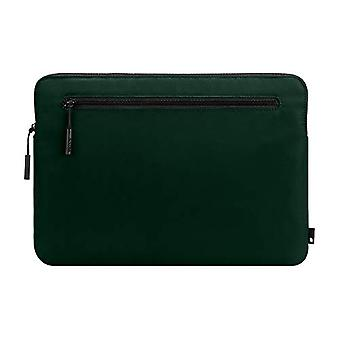 Incase Compact Foam Padded Flight Nylon Sleeve with Accessory Pocket for Most Tablets + Laptops up to 13 inches - Forest Green