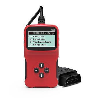 Samochodowy wykrywacz usterek samochodowy narzędzia diagnostyczne odczyt karty automatycznego sprawdzania interfejsu światła silnika