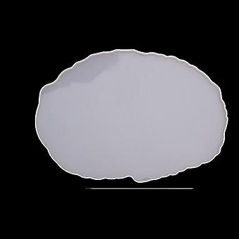 Diy Crystal Silicone Mold Three-layer Fruit Plate Tea Plate Epoxy Resin Mold