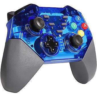 Gamepad for Nintendo Switch, Wireless Bluetooth Gamepad Controller for Nintendo Switch Pro, 6-Axis Gyroscope / Dual Vibration Function Gamepad(black)