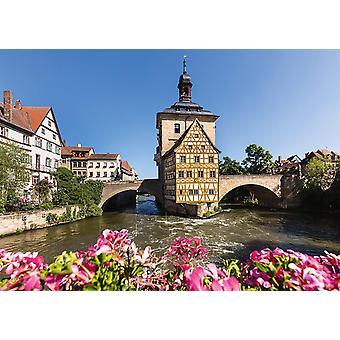 Schmidt Gamla Rådhuset, Bamberg pussel (1000 stycken)