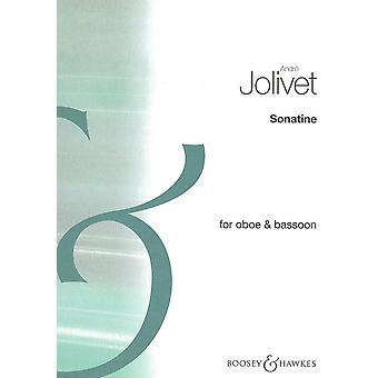 Jolivet: Sonatina Jolivet Oboe and Bassoon