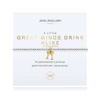 Joma smykker et lite godt sinn drikke like armbånd 4679