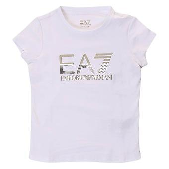 EA7 بنات تي شيرت