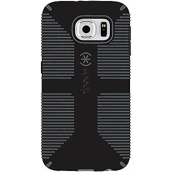 Speck CandyShell Grip Case for Galaxy S6 Edge (Black/Slate Grey)