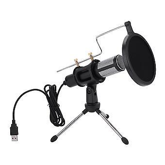 Trépied de microphone pour l'enregistrement de studio de chat