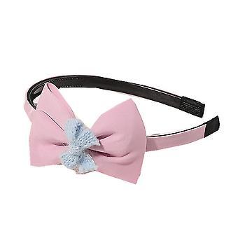 4PCS Sweet Bow Girls Princess Headband Non-slip Toothed Hair Hoop Head Hoop Kids Children Cute Hats