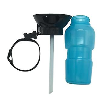 Anti-spill Out Design Dog Feeding Water Bottle Outdoor Sport Travelling Kettle Bowl Drinking Plastic