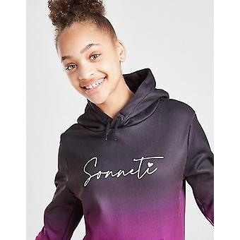 New Sonneti Girls' Solar Ombre Hoodie from JD Outlet Black