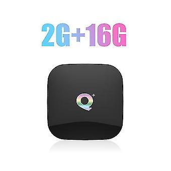 Recalbox android 9 32 4gb de ram gb rom smart set top box tv amlogic qpro 4k casa equipamentos