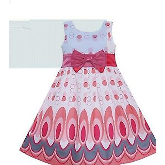 Cotton Polka Dot Bow Dress