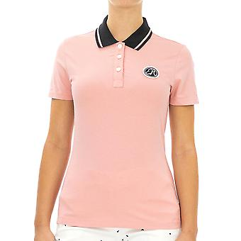 Emporio Armani Women Polo Shirt Regular fit  Half sleeve Pink