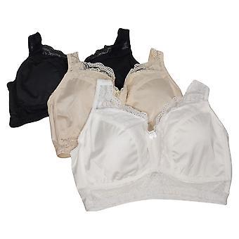 Soutien-gorge Pinup Rhonda Shear 3-Pack avec coussinets amovibles Blanc 608745