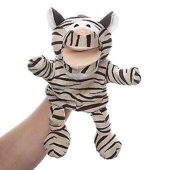 Qian Zebra Hand Puppets Animal Toy For Imaginative Play, Storytelling, Teaching