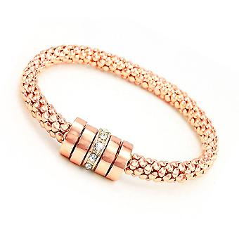 Eira Wen  Swarovski Crystal Bracelet With Crystal Charm In Silver Or Gold Or Rose Gold Plating For Women Ladies Anniversary Birthday Mothers Day Jewel
