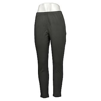 Mujeres con leggings de control ajuste regular Pull-on knit gris A235949