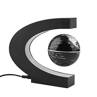 Korkean teknologian antigravitaatio kelluva magneettinen maapallo led-valolla