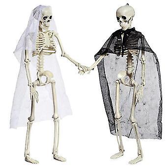 Halloween Skelett - Ganzkörper Halloween Skelett für beste Halloween Dekoration