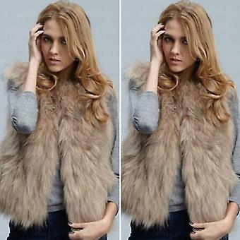 Női kabát Gilet mellény mellény kabát meleg