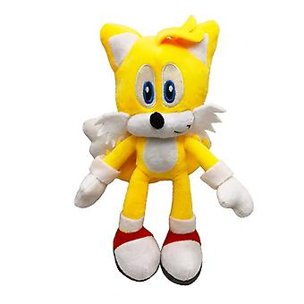 27 Cm Boy Girl Plush Toy Soft Plush Cartoon Children Birthday Gift-yellow Sonic