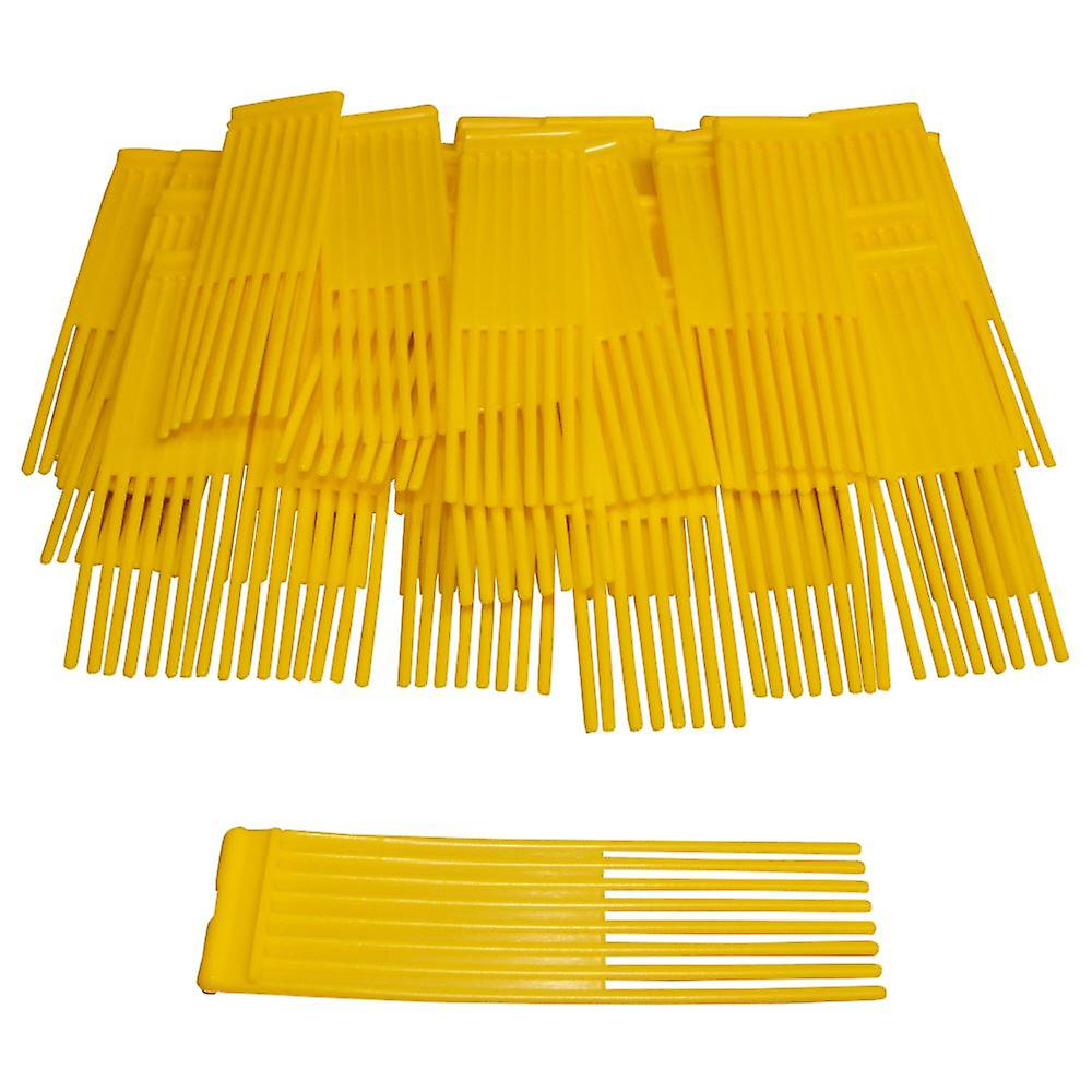 54 Yellow Brushes Fits Westwood Countax Power Sweeper Lawn Tractor