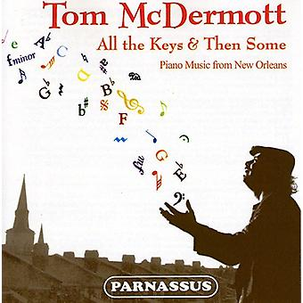 Tom McDermott - All the Keys & Then Some-Pno Music From New Orlean [CD] USA import