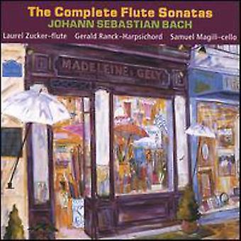 Zucker/Ranck - Johann Sebastian Bach: Täydellinen huilu sonaatit [CD] USA tuonti