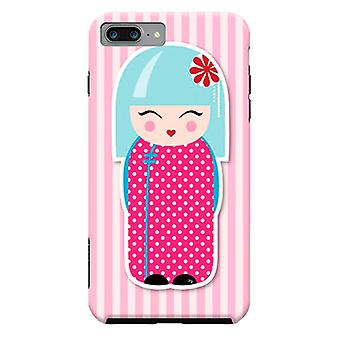 ArtsCase Designers casos Kokeshi boneca para iPhone dura 8 Plus / iPhone 7 Plus
