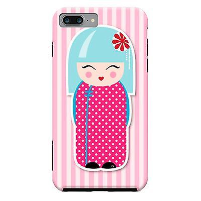 ArtsCase Designers Cases Kokeshi Doll for Tough iPhone 8 Plus / iPhone 7 Plus