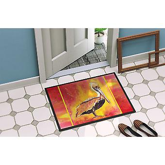 Carolines Treasures  8344-MAT Pelican  Indoor or Outdoor Mat 18x27 8344 Doormat