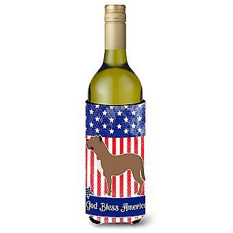 Perro de Presa Canario American Wine Bottle Beverge Insulator Hugger