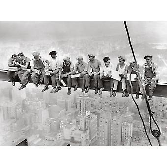 Rockefeller Center 1932 Juliste Tulosta Bettmann arkiston (24 x 18)