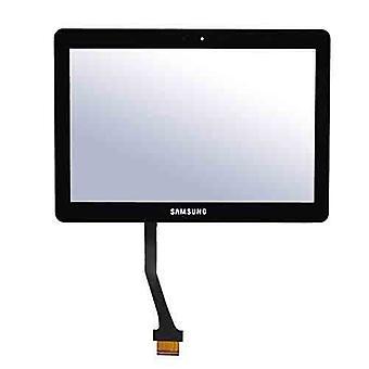 """شاشة تعمل باللمس لإكمال """"سامسونج اللوحي 10.1 N8000 N8010 N8013 ملاحظة""""-أسود"""