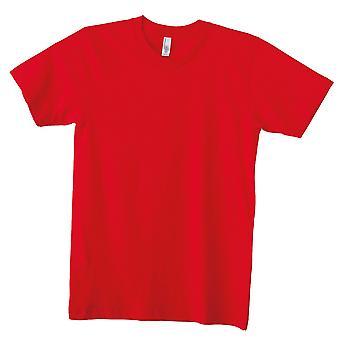 American Apparel Adults Unisex Plain Short Sleeve Cotton T-Shirt