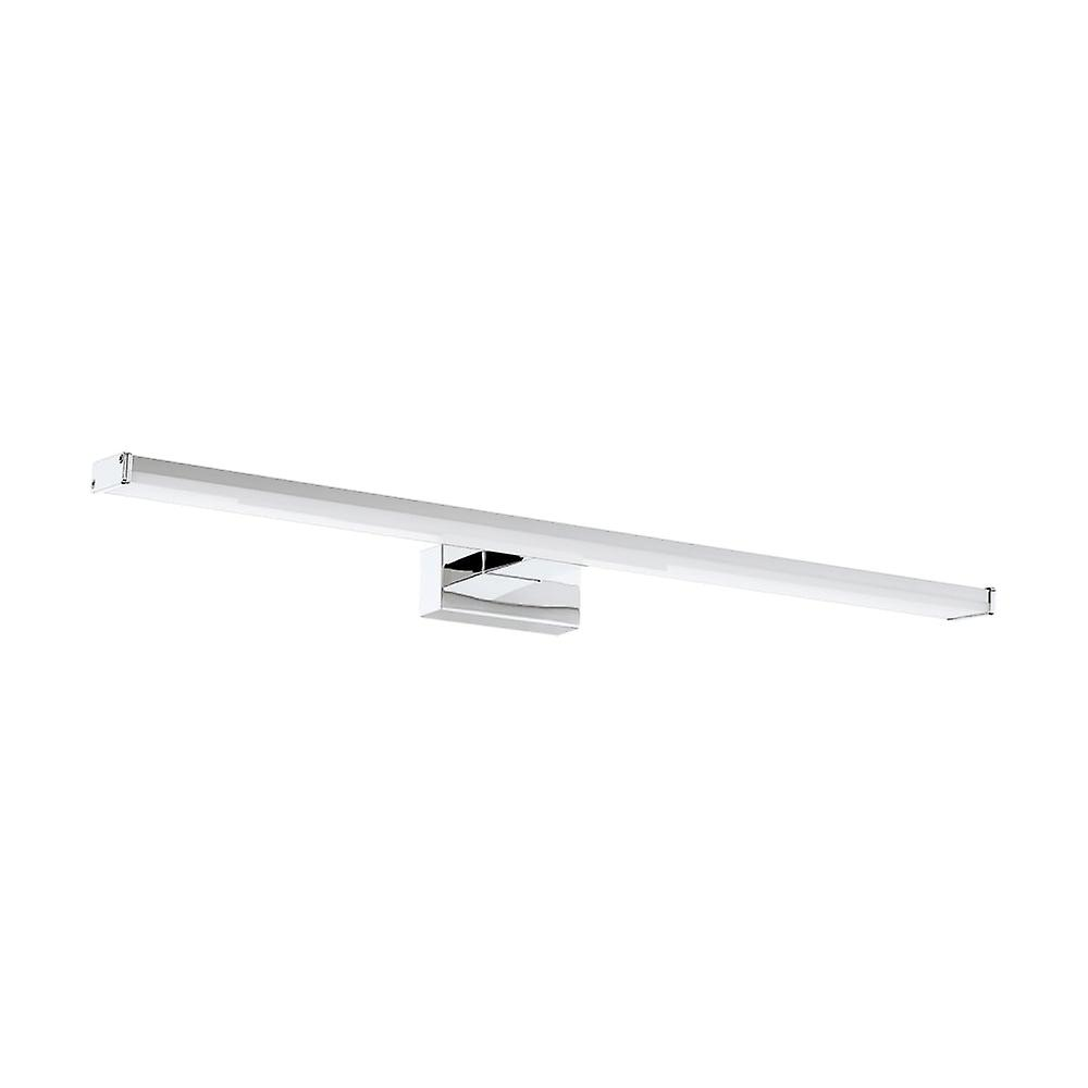 Eglo Pandella 600mm LED Over Mirror Wall Light Strip, Silver