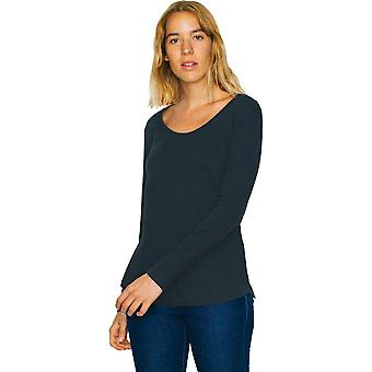 American Apparel Damen/Damen Ultra Wash Cotton Langarm T-Shirt