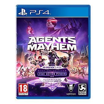 Agenten van Mayhem Day One Edition (PS4)-nieuw