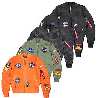 Alpha Industries Jacke MA-1 TT Patch II