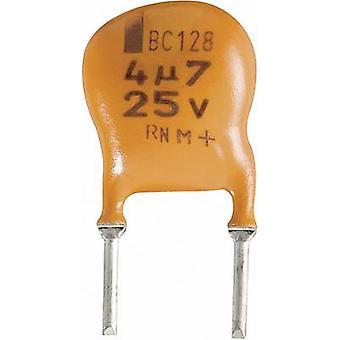 VISHAY 2222 128 36228 elektrolitikus kondenzátor, radiális ólom 5 mm 2,2 μF 25 V DC 20% (Ø x H) 10 mm x 7 mm 1 db