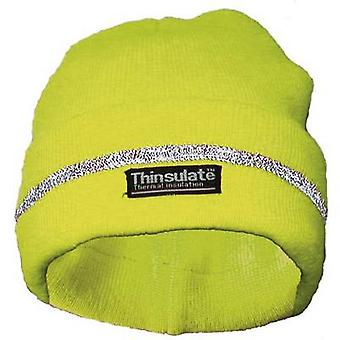 Lasse 40312 Woollen hat neon Yellow