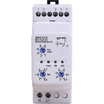 AKC current monitoring relay ENTES AKC-01A Contact type SPDT-CO (8 A)