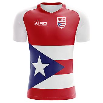2020-2021 Puerto Rico Home Concept Football Shirt - Kids