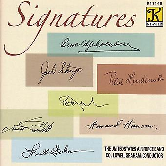 United States Air Force Band - Signatures [CD] USA import