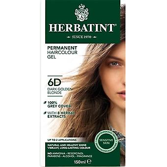 Herbatint, Dark Golden Blonde Hair Col 6D, 150ml