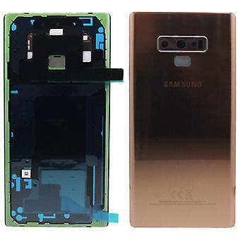 Samsung GH82 - 16920D крышка батарейного отсека для Галактика Примечание 9 N960F + клей медь медь новый
