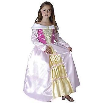 Bnov sovende prinsesse kostume - barn